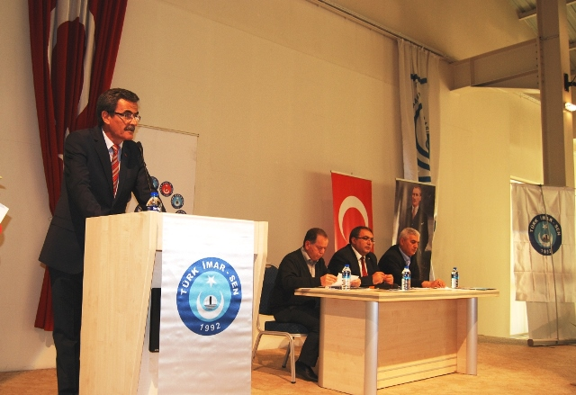 Türk İmar-Sen'de Hamdi Altunbaş Güven Tazeledi