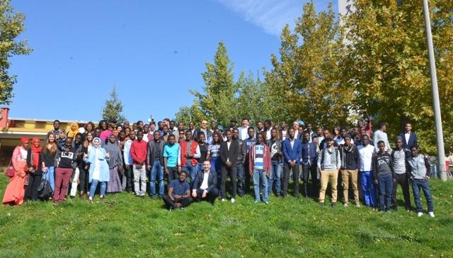 Selçuk Üniversitesi Afrikalı öğrencilerle buluştu