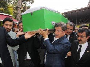 Davutoğlu cenazeye katıldı