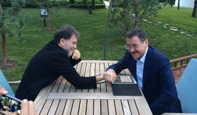 Melih Gökçek'ten Ahmet Hakan'a telefon...