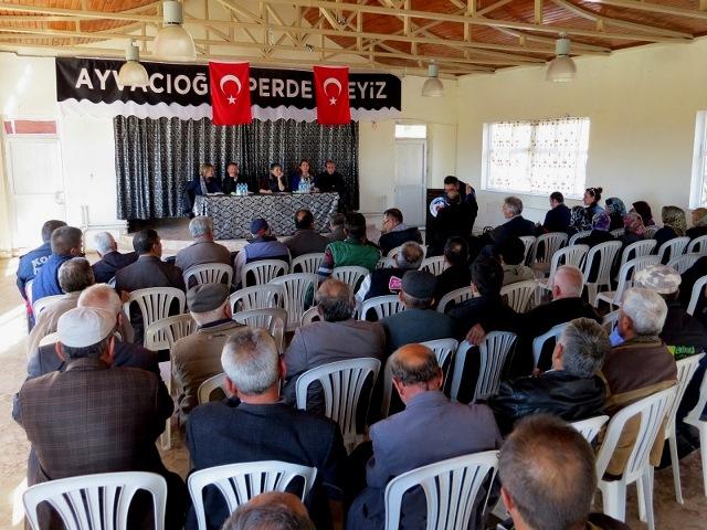 Yalıhüyük'te tarımsal kalkınma proje toplantısı yapıldı