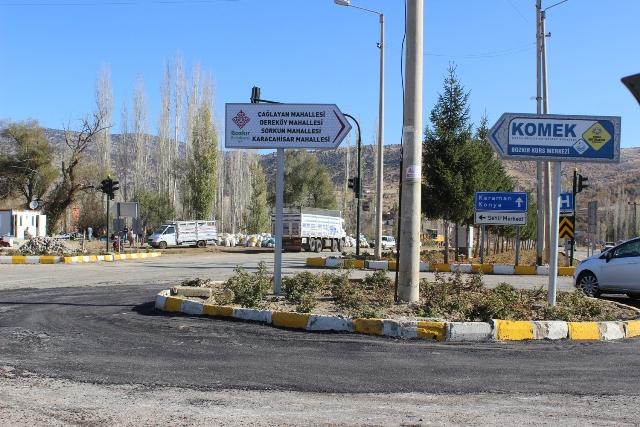 Bozkır'ın Mahallesi Olan Belde ve Köyler Yeni Tabelalarına Kavuştu