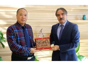 ODTÜ Konfüçyus Enstitüsü heyeti Bağlı'yı ziyaret etti