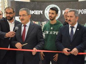 Atiker Konyaspor'un kupaları Selçuk Üniversitesi'nde 3 gün sergilenecek