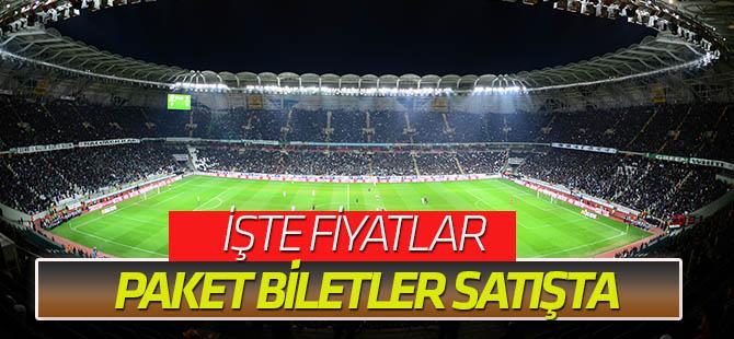 Paket biletler satışta (Antalyaspor& Olympique Marsilya)