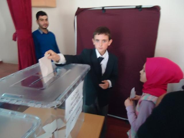 Bozkır'da il öğrenci meclis temsilcisi belirlendi