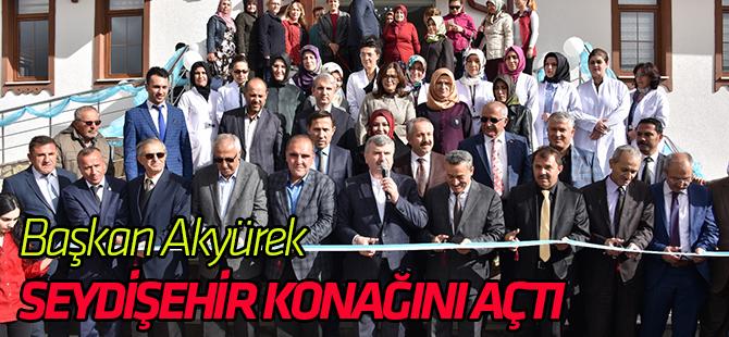 """Başkan Akyürek Seydişehir Şehir Konağı'nın Açılışını Yaptı:""""Şehirlerimiz Kalkındıkça Ülkemiz Güçleniyor."""""""