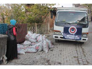 Beypazarı'nda kömür yardımı