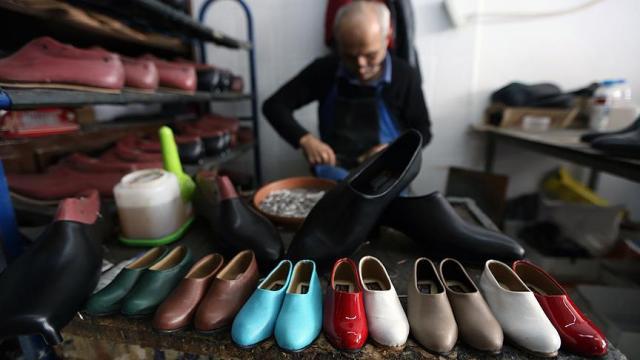 'Yumurta topuk' ayakkabıya Avrupa'dan da Ortadoğu'dan da talep var