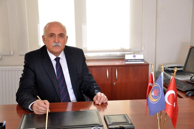 TED Konya Kolejinde Genel Koordinatörlük görevine Erdoğan Özmen getirildi.