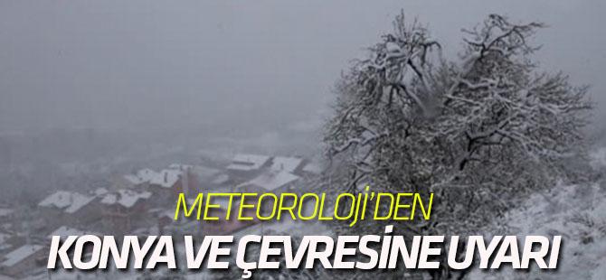 Meteoroloji, Konya ve bazı ilçeleri uyardı
