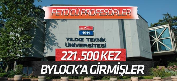 YTÜ'deki FETÖ'cü profesörler 221 bin 500 kez 'ByLock'a girmiş
