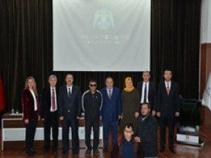 """Selçuk Üniversitesi'nde """" Azmin Zaferi"""" apaneli"""
