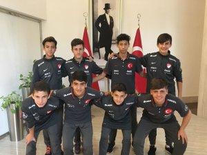 U 14 Milli takım bölge kampına Konyaspor'dan 8 futbolcu