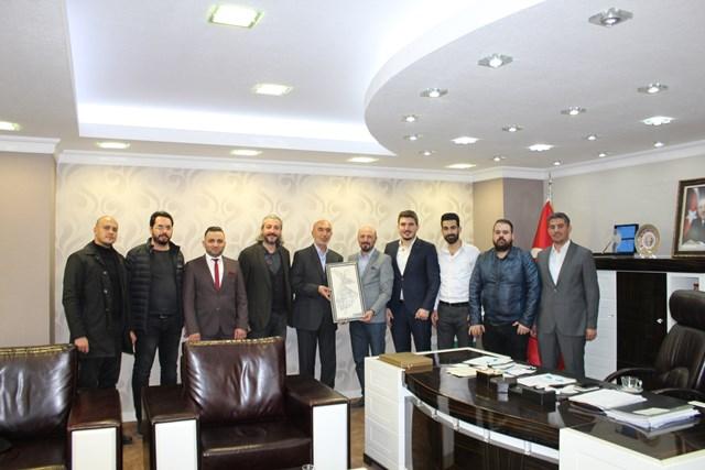 KONTİMDER'den Hasan Angı'ya ziyaret