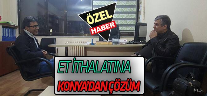 Et ithalatına çözüm Konya'dan