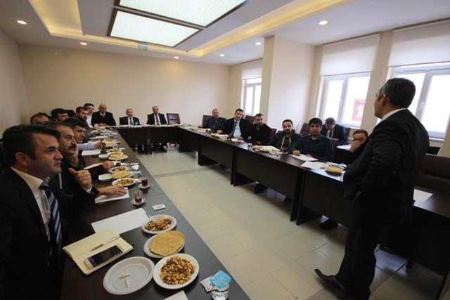 Beyşehir Belediyesi'nde AR-GE ve tasarım merkezleri tanıtım toplantısı