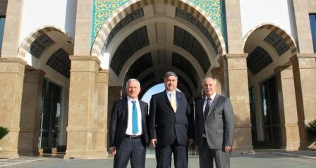 Irak Büyükelçisi Al Alalawi, Antalya Bilim Üniversitesi'nde