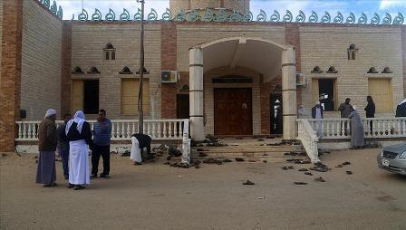 Mısır'daki saldırıyla ilgili canlandırma yaptıran okul müdürüne uzaklaştırma