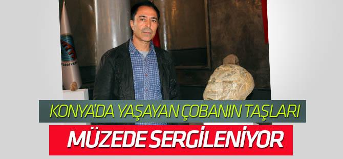 """Konya'da yaşayan Çoban Ahmet'ten """"İnsansı Taşlar Müzesi"""""""