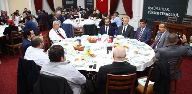 MÜSİAD Konya Şubesi'nde Türk-Mısır İş Forumu yapıldı