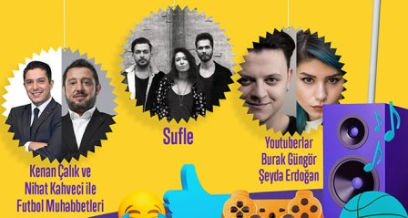 Selfyfest'17, Akdeniz Üniversitesi öğrencilerini müzik ve eğlence ile buluşturacak