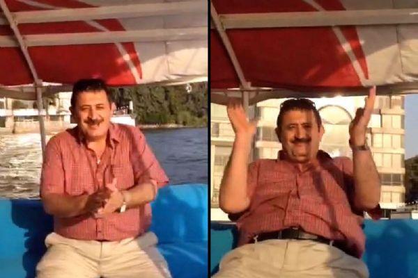FETÖ'cüler Ali Akın, Soner Cesur Eğlenirken Görüntülendi