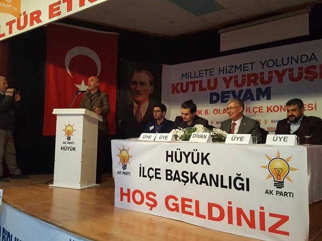 AK Parti Hüyük ve Derebucak'ta ilçe kongreleri