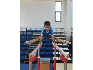 Cimnastikte seviye tespit yarışmaları yapıldı