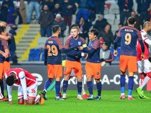 Medipol Başakşehir, UEFA Avrupa Ligi'ne veda etti