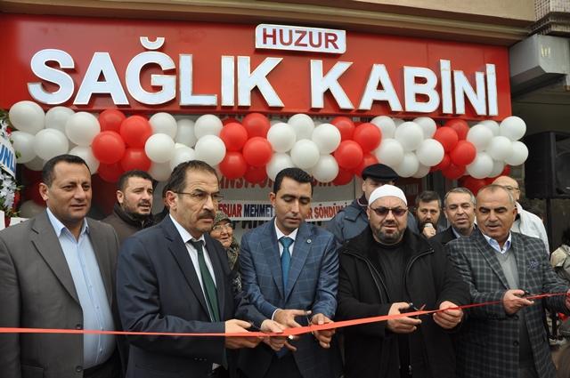 Huzur Sağlık Kabini açıldı