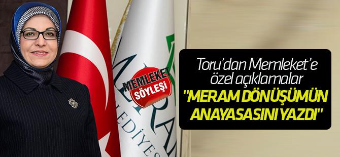 """""""Meram dönüşümün anayasasını yazdı"""""""