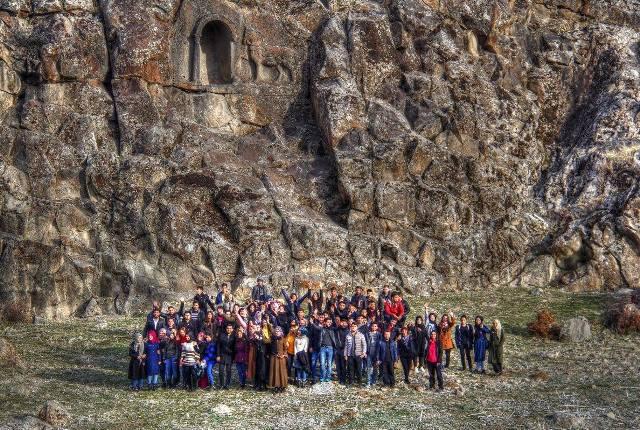 Beyşehir Gölü etrafındaki kültürel miras ve adalar üniversite öğrencilerine tanıtıldı