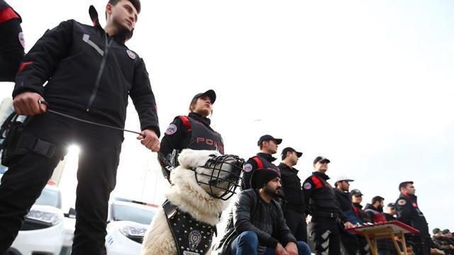 İstanbul polisi DEAŞ'a geçit vermedi