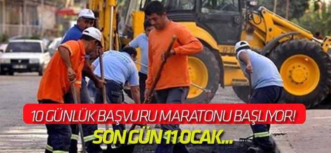 Taşeron işçiler için 10 günlük başvuru maratonu başlıyor!