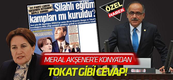 Meral Akşener'e Konya'dan Tepki