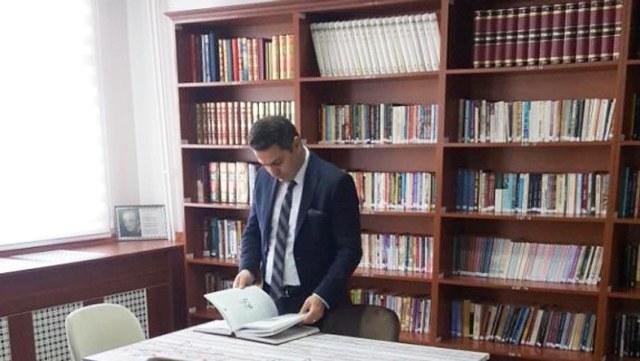 KOP'tan Yozgat'a kütüphane