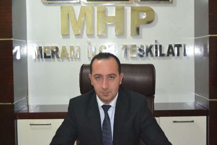 MHP Meram'dan serbest bölge tepkisi