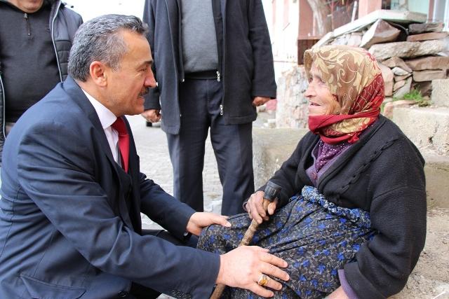 Başkan Tutal'dan Engellilere Süpriz Ziyaret