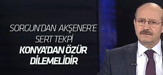 Ahmet Sorgun'dan Meral Akşener'e Sert Tekpi
