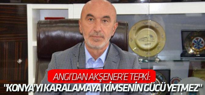 Hasan Angı'dan Meral Akşener'e tepki: Konya ilk sandıkta cevabını verir