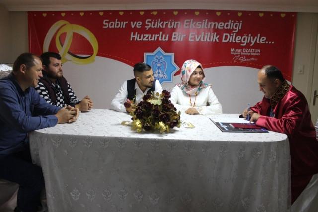 Beyşehir'de 2017'de 531 Nikah Kıyıldı