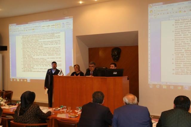 Ereğli Belediyesi 2018'in İlk Meclis Toplantısını Gerçekleştirdi