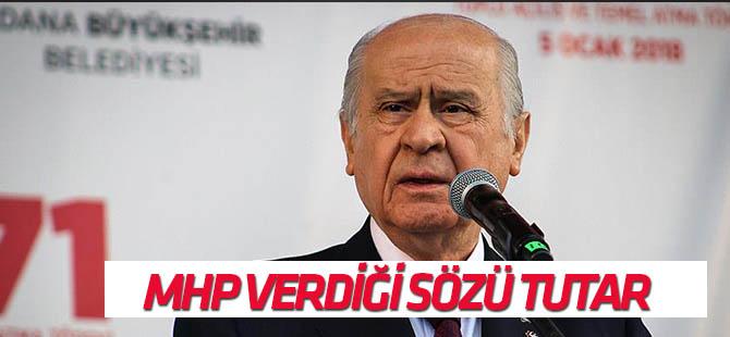 MHP Genel Başkanı Bahçeli Adana'da konuştu