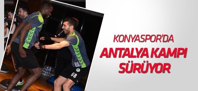 Konyaspor'da Antalya Kampı sürüyor