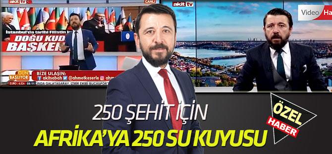 Afrika'da 250 şehide 250 su kuyusuna Konya'dan 50 bin dolar
