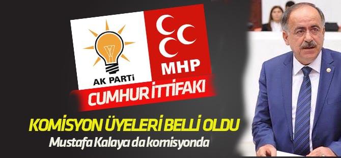"""""""Cumhur İttifakı""""nda AK Parti ve MHP komisyon üyeleri belli oldu"""