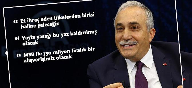 Fakıbaba: Türkiye et ihraç eden bir ülke olacak