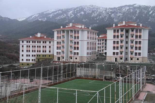 Beyşehir'de TOKİ çalışmaları