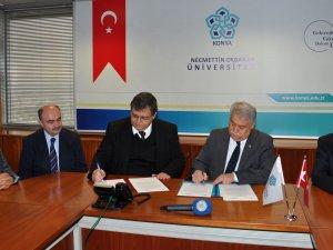 NEÜ ile Kıbrıs Sosyal Bilimler Üniversitesi arasında işbirliği protokolü